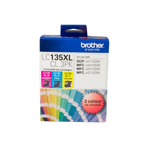 BROTHER LC67 PHOTO VALUE PACK BK C M Y 40SHT