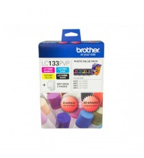 BROTHER LC39 VALUE PACK BK C M Y + PAPER INK PACK