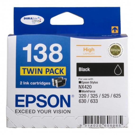EPSON T1331 133 BLACK INK CARTRIDGE